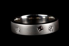 Karikagyűrű Platina és gyémántok