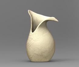 kancsó terv látvány 3D render